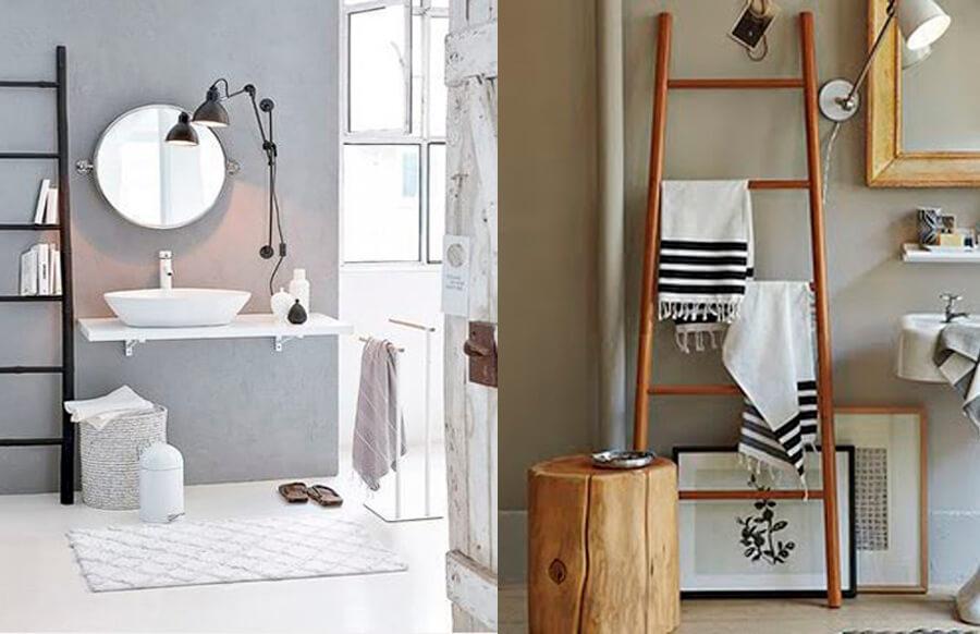 Ideas para hacer tu propio toallero - Toalleros de madera para bano ...