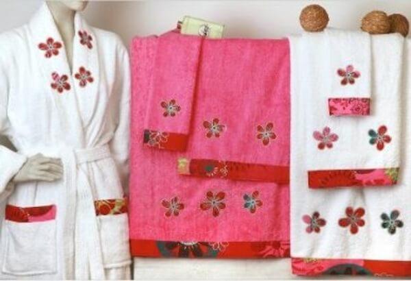 tendencias en toallas y albornoces este verano