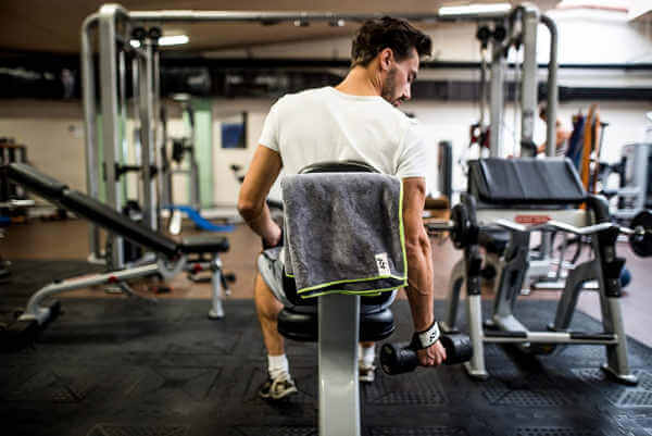 escoger mejor toalla para gimnasio